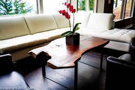 live edge wood coffee table and entryway table u2013 chadocreative