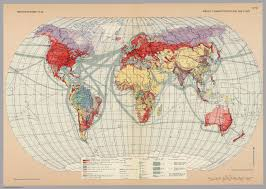 World Map Time Zone by Surface Communications And Time Zones Pergamon World Atlas