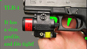 streamlight tlr 4 tac light with laser quick look at the streamlight tlr 4 in pictures youtube
