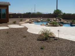 arizona landscape design poco verde landscape travertine pavers