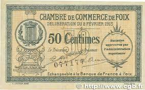 chambre de commerce var 50 centimes regionalism and miscellaneous foix 1915 jp 059 05