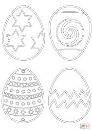 easter eggs patterns coloring page free printable coloring pages