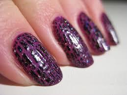 purple nail art designs acrylic nail designs purple black nail