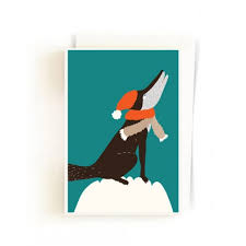 books u0026 more edition lidu christmas forest cards snow wolf