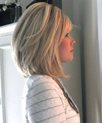 medium length stacked hair cuts medium stacked hair cuts back view hairstyle picture magz