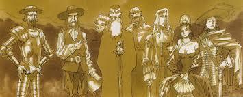 league of extraordinary gentlemen team comic vine