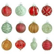 winter tidings glass ornament 20 count white chestnut