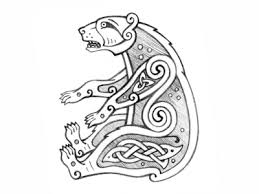 celtic bear sketch by sergey arzamastsev dribbble