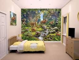 bedroom mural animals of the forest bedroom mural 10ft x 8ft walltastic