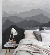 bedroom decor wallpaper design for wall mountain wallpaper