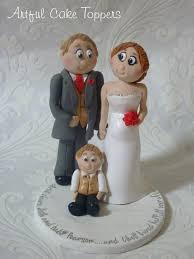 family wedding cake toppers family clay personalised wedding cake topper to flickr