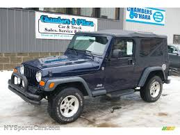 2006 jeep wrangler unlimited 4x4 in midnight blue pearl 728121
