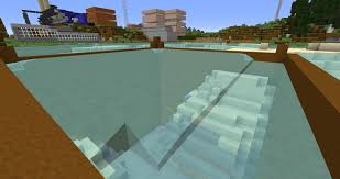 minecraft dump truck minecraft how can i clear the water out of this area arqade