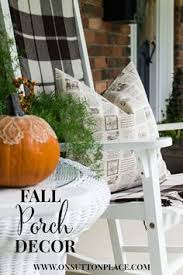 Fall Decorated Porches - leaves and pumpkin halloween hoodie halloween night halloween