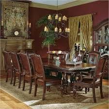 11 dining room set homelegance louise 9 expandable trestle dining table