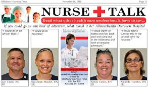 Oklahoma how to become a travel nurse images 11 16 15 oklahoma nursing times jpg