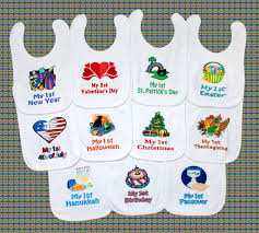 my 1st halloween baby clothes first holiday baby bib yearly set new baby shower gift idea
