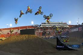 motocross freestyle tricks 7 greatest travis pastrana moments from x games