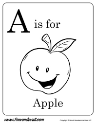 the letter a coloring page a is for apple letter a coloring page pdf