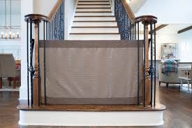 Baby Gate For Stairs With Banister Stair Gate For Banister Banister To Banister Safety Gate Farmhouse