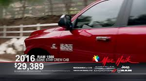 mac haik dodge chrysler jeep ram houston tx lease a 2016 ram lone crew cabs 299 per month mac haik