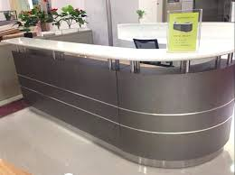 Used Salon Reception Desk Cheap Salon Reception Desks Modern High Quality 2 Person Reception