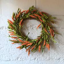 broom corn wreath fall wreath door wreath for fall faux wreath