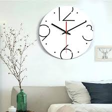 bedroom clocks bedroom clocks home simple mute wall clock digital acrylic wall