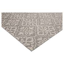 Fade Resistant Outdoor Rugs Mosaic Gray Outdoor Rug Threshold Target