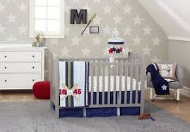 Just Born Crib Bedding Just Born Vintage Sports Collection Baby Boy S 3 Crib