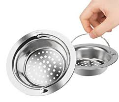 Kitchen Sink Drains Platinum Kitchen Platinum Stainless Steel Sink Drain Strainer With