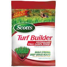 scotts turf builder 15 000 sq ft winterguard fall fertilizer