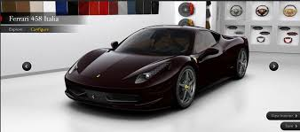 what is the price of a 458 italia pricing for 458 italia leaks out