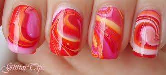 glitter tips rio beauty marble nail art polish london