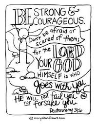 strong courageous coloring kristahamrick lds