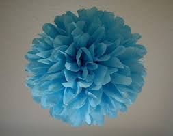 sky 1 tissue paper pom wedding decoration diy birthday