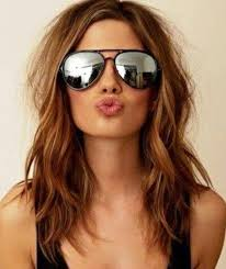 cute shoulder length haircuts longer in front and shorter in back best 25 medium hairstyles women ideas on pinterest womens