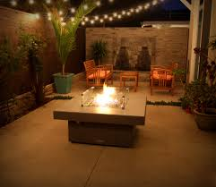 Backyard Propane Fire Pit by Innovative Propane Fire Pit Table In Patio Asian With Patio Wind