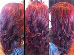Red Hair Color With Highlights Pictures Burgundy Hair Color With Red Highlights Hairstyles And Haircuts