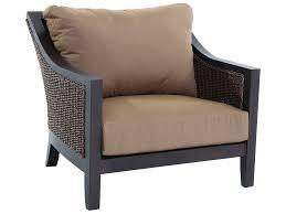 Sunvilla Bistro Chair Sunvilla Biscay Aluminum Wicker Cuddle Chair In Spectrum Caribou
