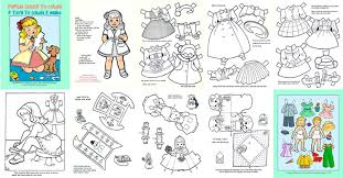 frozen paper dolls coloring pages alltoys for