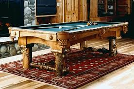 Custom Pool Tables by Rustic Pool Tables Handmade Rustic Beauties Can Be Yours