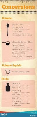 conversion mesure cuisine best 25 measuring equivalents ideas on cooking