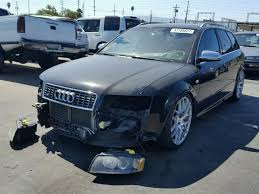 2005 audi s4 salvage certificate 2005 audi s4 rs4 station 4 2l 8 for sale in