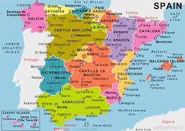 maps of spain spain political map political map of spain political spain map