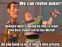 Poker Memes - a guaranteed way to revive the dying game of poker cardplayer