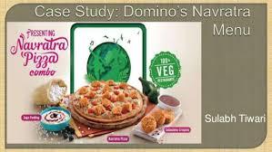 domino cuisine domino s navratra menu study
