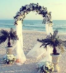 Wedding Arches Decorated With Tulle Best 25 Metal Wedding Arch Ideas On Pinterest Beach Wedding