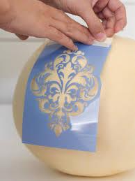fabric pattern painted pumpkin hgtv