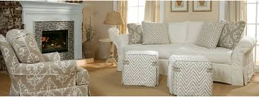 Slipcover Furniture Living Room Four Seasons Casual Custom Designs